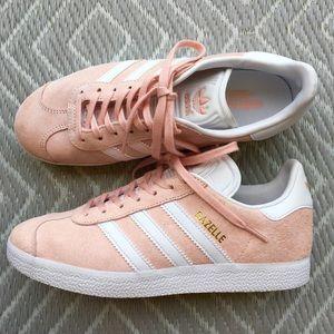 Women's Vapour Pink Adidas Gazelle Sneakers